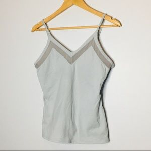 ALO Athletic Tank Top Gray Womens size Large
